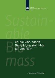 Biomass Business Opportunities - SNV