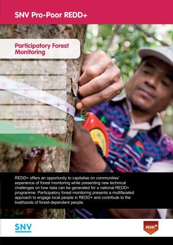 Participatory forest monitoring - SNV