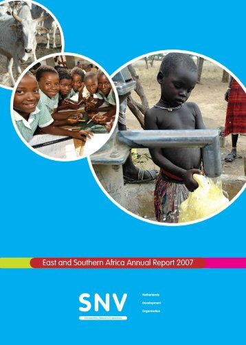 SNV East & Southern African Annual Report 2007