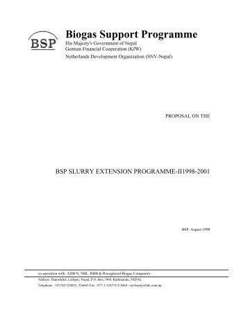 download (pdf, 261kB) - SNV