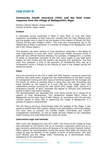 download (pdf, 252kB) - SNV