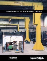 performance jib and gantry cranes - A-Lined Handling Systems