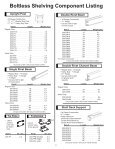 BOLTLESS SHELVING WIRE SHELVING - Snyder Equipment, Inc. - Page 2