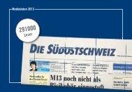 Komplette Tarifdokumentation (PDF Download) - Südostschweiz ...