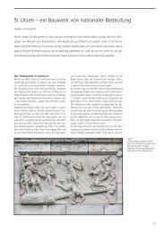 St. Ursen – ein Bauwerk von nationaler Bedeutung
