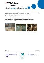 Revitalisierungskonzept Emmenschachen - Kanton Solothurn