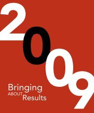 Society of Actuaries 2009 Annual Report