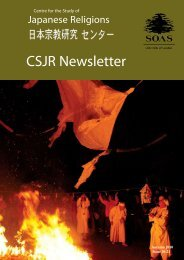 CSJR Newsletter - The School of Oriental and African Studies
