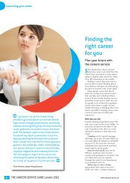 Finding the right career for you - Careers Tagged