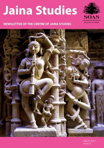 newsletter of the centre of jaina studies - The School of Oriental and ...