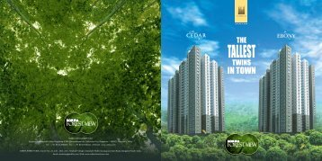 Cedar Ebony E-Brochure - Sobha Developers Ltd.