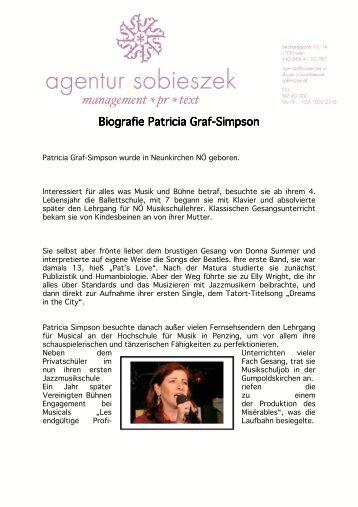 Biografie Patricia Graf Biografie Patricia Graf-Simpson