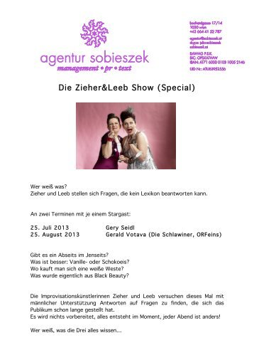 Die Zieher&Leeb; Show (Special)