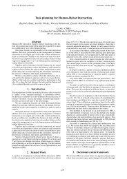 Task planning for Human-Robot Interaction - sOc-EUSAI 2005