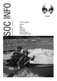 In dieser Ausgabe: Editorial Aare Moësa Rheinauen Vorderrhein ...