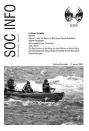 In dieser Ausgabe: Editorial Aiguuq! - Swiss Open Canoe