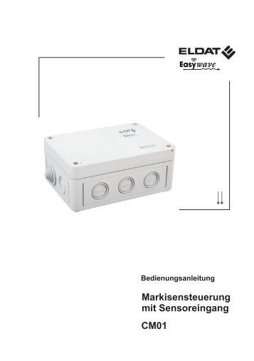 Markisensteuerung mit Sensoreingang CM01 - ELDAT