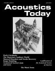 Musician's Auditory World - Soc.northwestern.edu - Northwestern ...