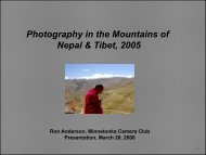 Nepal-Tibet, 2005, Mostly Mountains, 38-Photo Slide Show (PDF ...