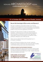 Programme - Society of Antiquaries of Scotland