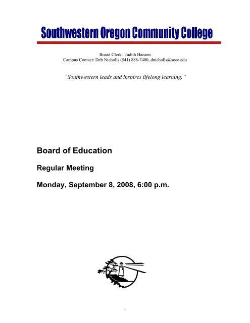 Queensborough Community College Campus Map.Board Of Education Southwestern Oregon Community College