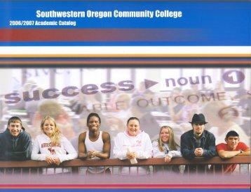 Part 1 3.7.qxp - Southwestern Oregon Community College