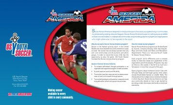 Soccer Across America Brochure - US Youth Soccer