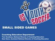 SMALL SIDED GAMES - Indiana Soccer