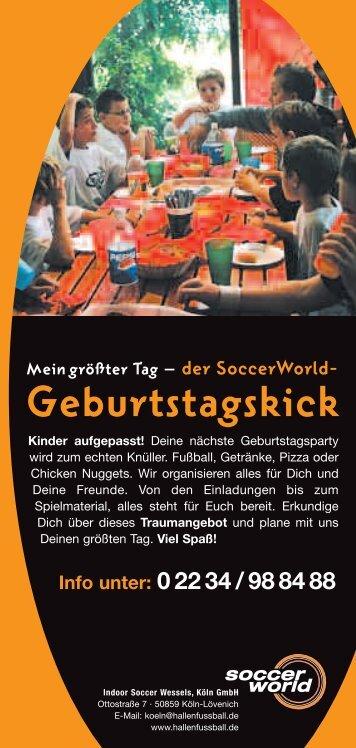 Postkarte 40 - SoccerWorld Köln