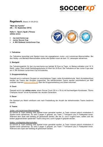 Regelwerk (Stand: 01.09.2012)