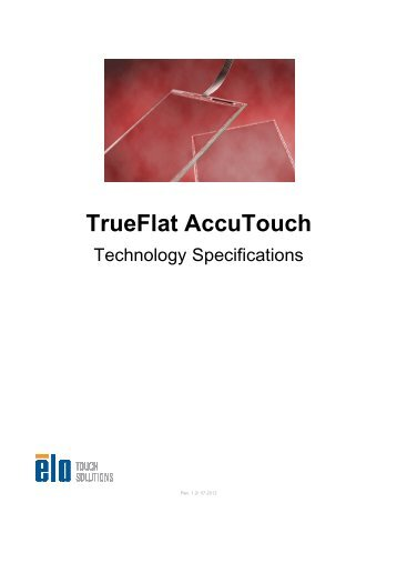 Trueflat Accutouch Technology Specifications
