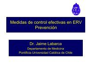 Medidas de control efectivas en ERV Prevención