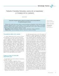 Varicela: Consultas frecuentes acerca de su tratamiento y el manejo ...