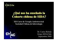 ¿Qué nos ha enseñado la Cohorte chilena de SIDA? - Sociedad ...