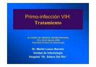 Primo-infección VIH - Sociedad Chilena de Infectología