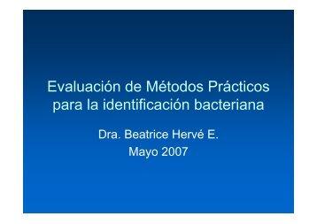 Identificación Bacteriana - BioPlac Medios