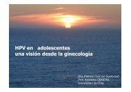HPV en adolescentes una visión desde la ginecología - Sociedad ...