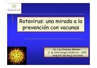 Rotavirus: una mirada a la prevención con vacunas
