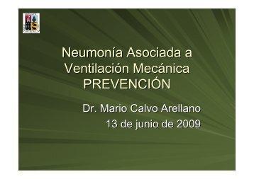 Neumonía Asociada a Ventilación Mecánica PREVENCIÓN