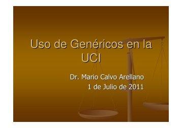 Uso de Genéricos en la UCI