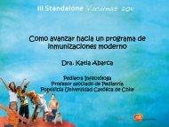 Como avanzar hacia PNI moderno - Sociedad Chilena de Infectología