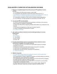 Evaluación V Curso de Actualización vacunas