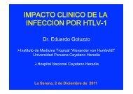 IMPACTO CLINICO DE LA INFECCION POR HTLV-1