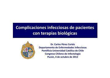 Complicaciones infecciosas de pacientes con terapias biológicas