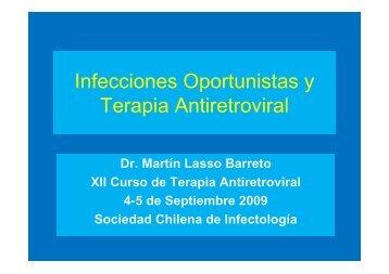 Infecciones Oportunistas - Sociedad Chilena de Infectología