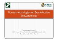 Nuevas tecnologías en Desinfección de Superficies