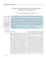 Evidencia seroepidemiológica de exposición humana a Anaplasma ...