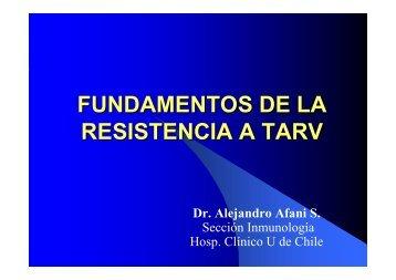 FUNDAMENTOS DE LA RESISTENCIA A TARV