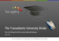 The Transatlantic University Divide - Sociagility
