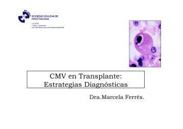 CMV en Transplante: Estrategias Diagnósticas